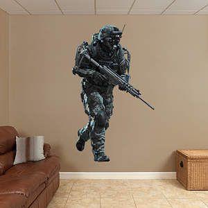 Marine   Call Of Duty: Advanced Warfare Fathead Wall Decal Part 89