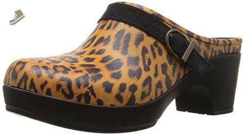 e6e9e967d1f6 crocs Women's Sarah Graphic Clog Mule, Leopard, 11 M US - Crocs mules and  clogs for women (*Amazon Partner-Link)