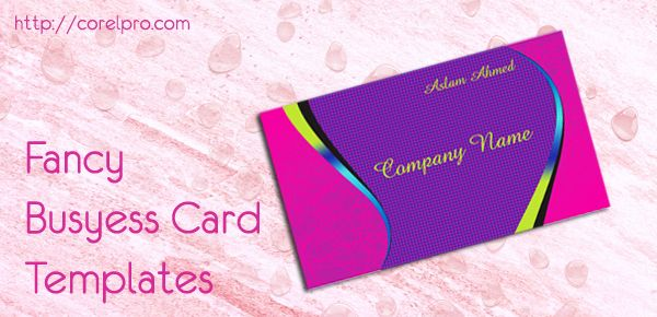 Fancy Business Card Templates With Images Graphic Design