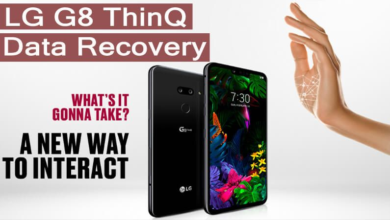 How can i recover deleted data from lg g8 thinq data