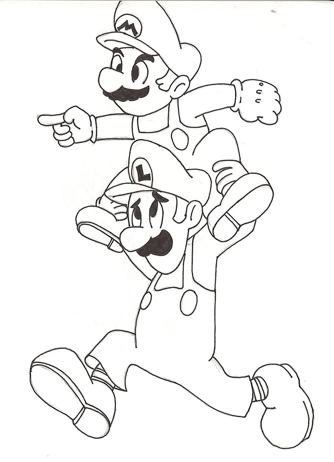 Guarda tutti i disegni da colorare di super mario www for Disegni da colorare super mario bros