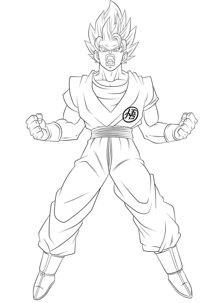 New Transformation Lineart Super Saiyan Blue 2 By Nekoar On Deviantart Dragon Ball Art Dragon Ball Super Art Dbz Drawings