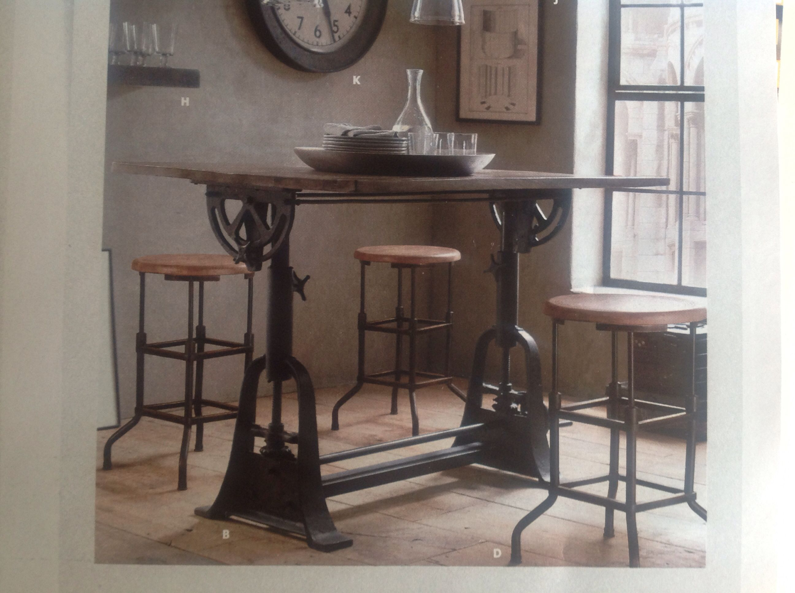 Restoration Hardware Drafting Table