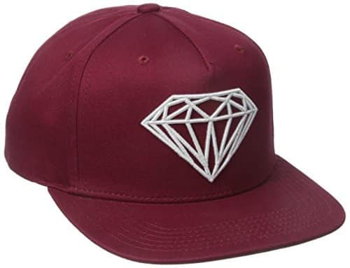 3a603c91a84 Diamond Supply Co. Men s Brilliant Snapback  Knit snapback with embroidered  logo Woven flag label