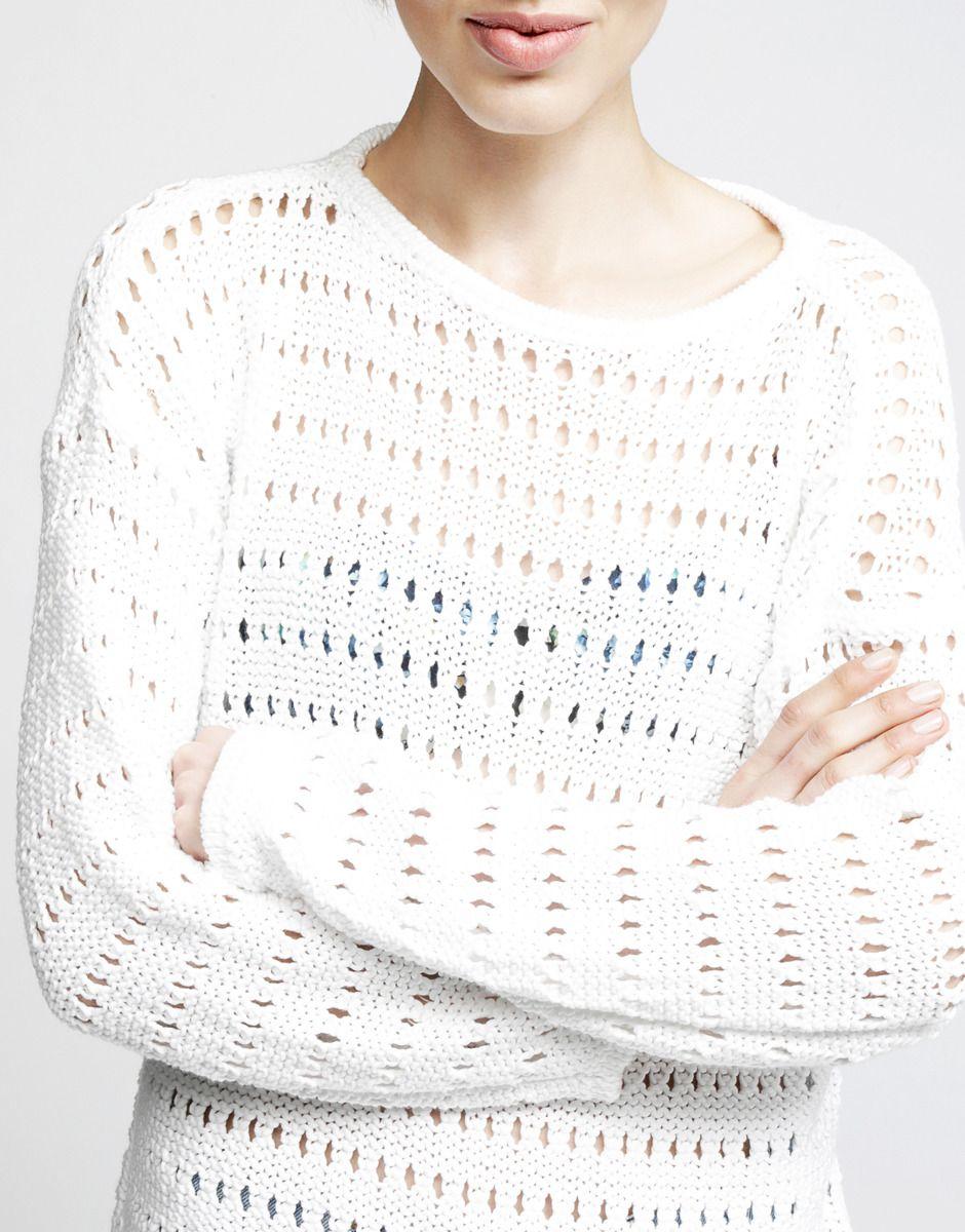 Cosmic Sweater. White Noise colour inspo. #woolandthegang