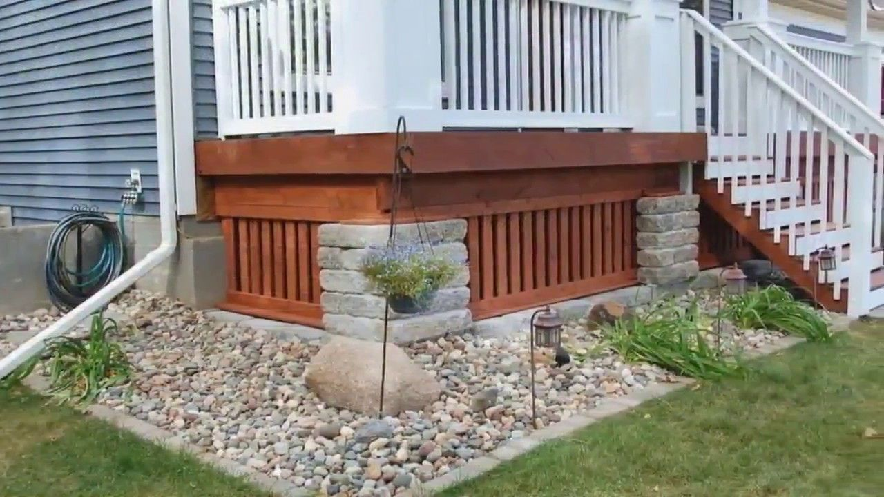 Image result for mobile home skirting ideas Mobile home