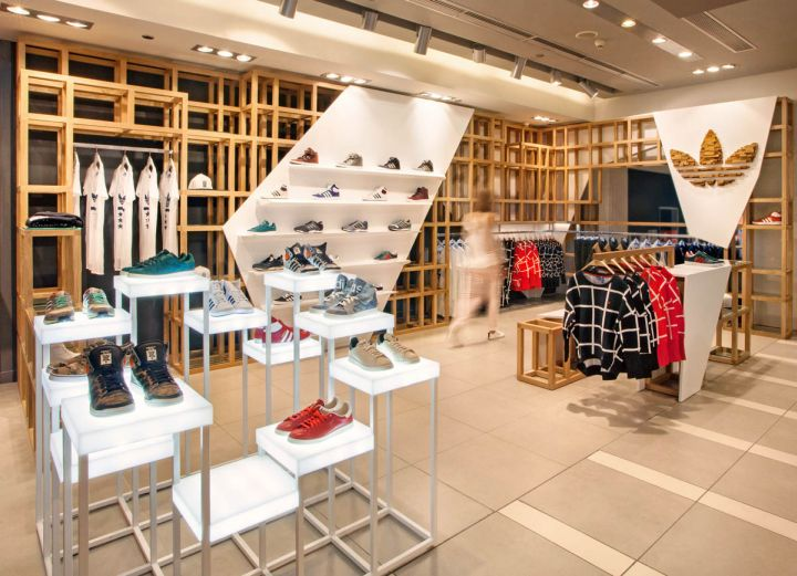 1d21f94dc5 adidas Originals fashion store by ONOMA Architects