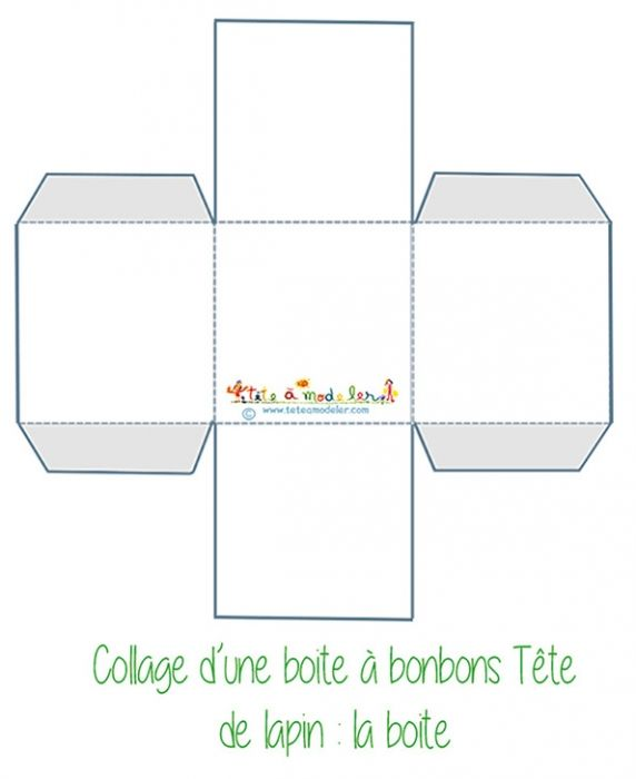 Mod les de bo tes imprimer boite simple et mod le - Modele de boite en cartonnage ...