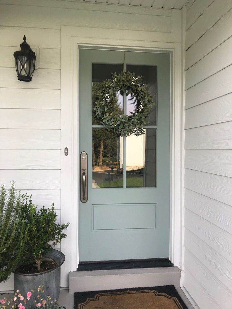 Cottage Style 4 Lite Entry Door