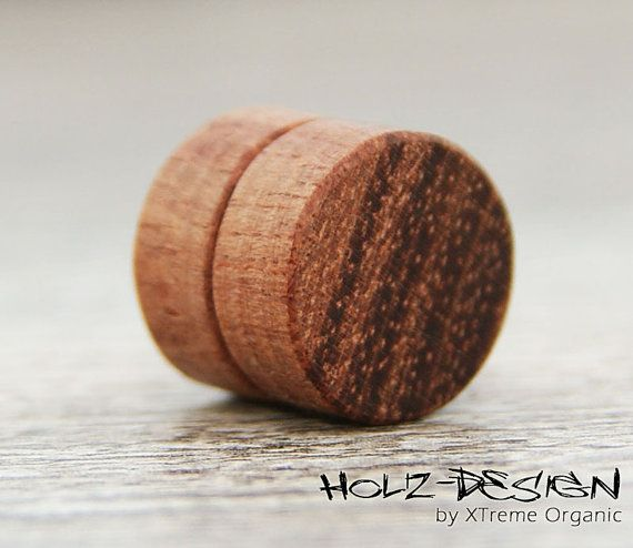 Fake Magnet Plug Illusion Fake Plugs Magnetische Ohrringe Ohrstecker Falsche Flesh Tunnel Holz Fake Magnets Fake Plugs Fake Plugs Earrings Illusions