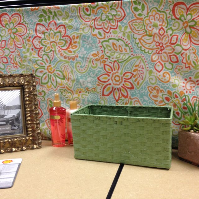 Textured Wrapping Paper For Cubicle Walls -- Lighter Than