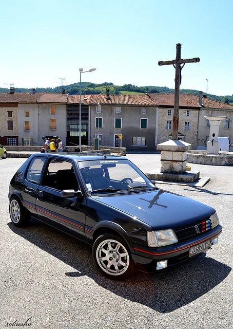 Peugeot 205 Gti Pts 1 9l Peugeot Gti Hot Hatch