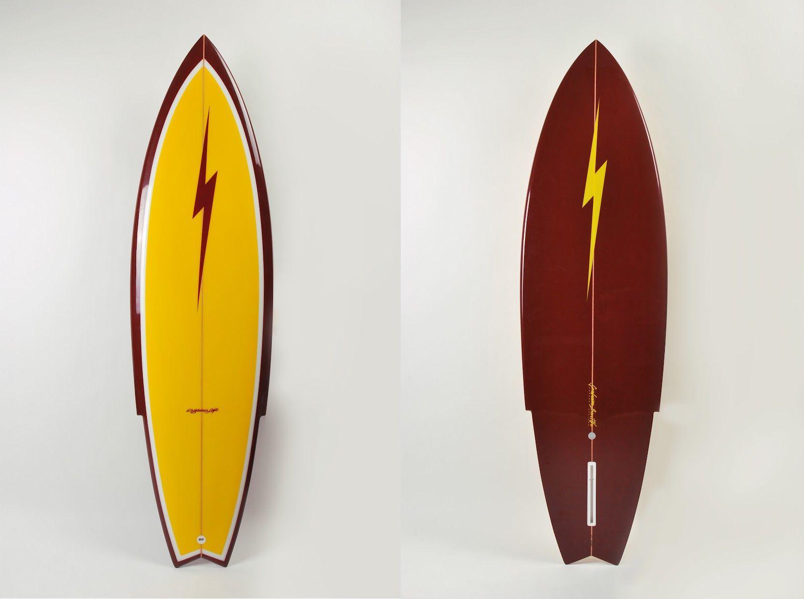 Lightning Bolt Surfboard - Stinger