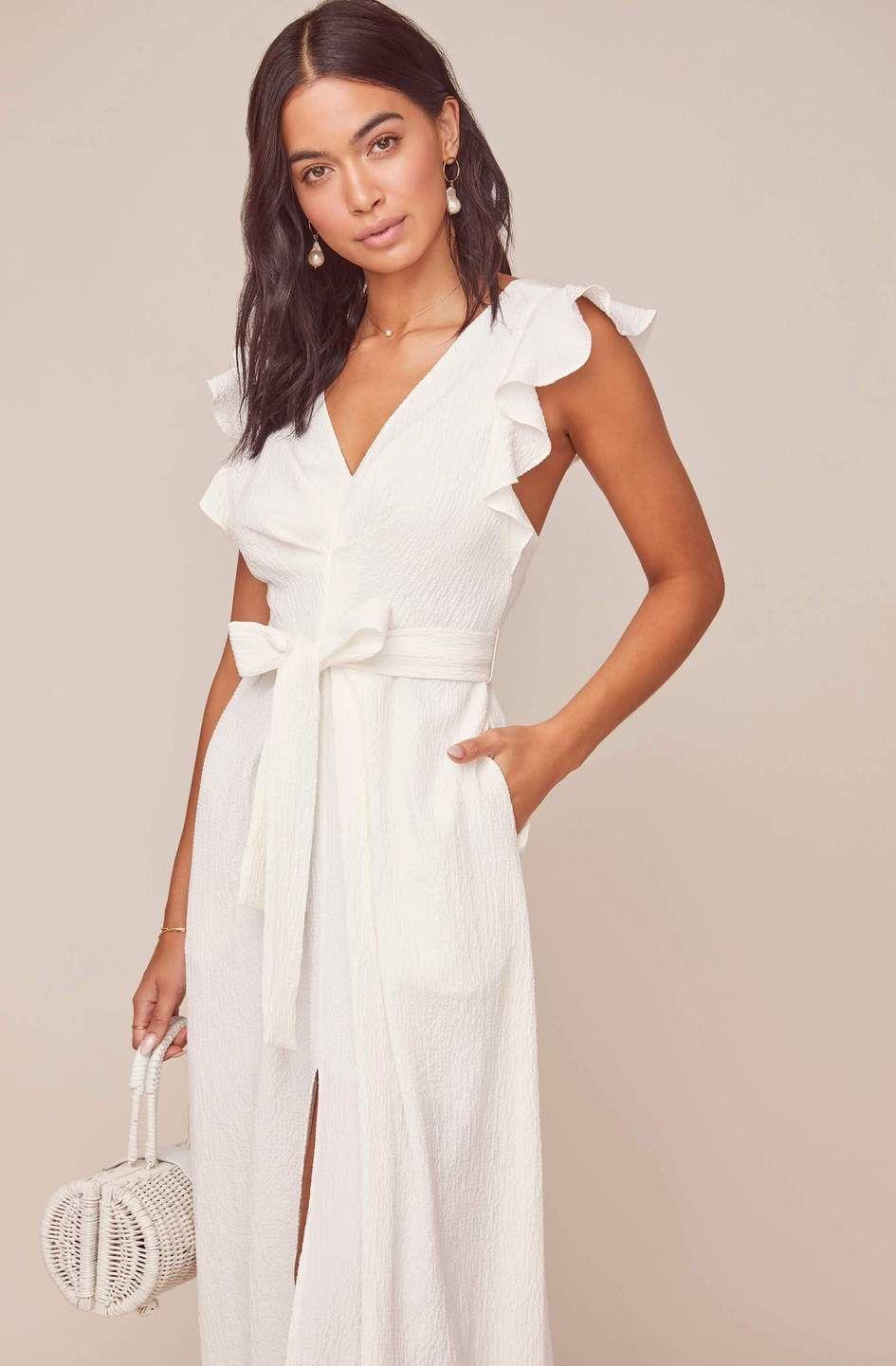 41+ Ruffle sleeve dress ideas