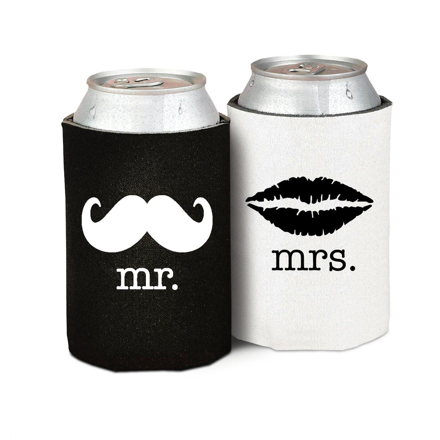 Mr. & Mrs. Foam Koozies - $7.97 | Bachelorette Party Ideas ...