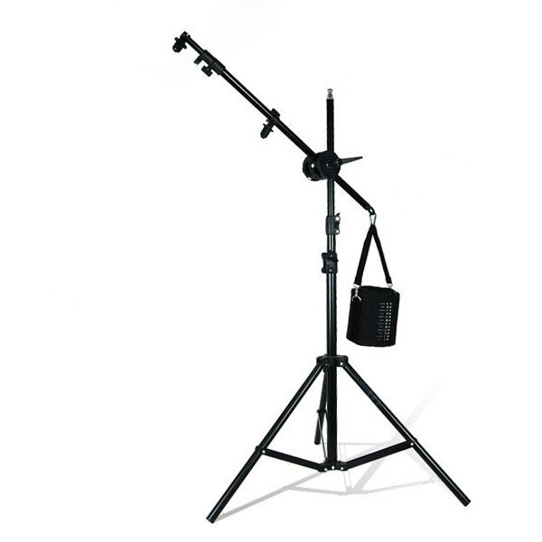 10 Ft Light Reflector Arm Holder Stand Kit With Counter Weight Saddle Bag Stand Tall Photo Studio Equipment Saddle Bags E Studio Equipment