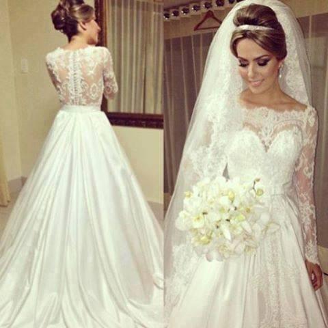 Brautkleid Spitze Vintage | Hochzeitskleider | Pinterest | Bun bun ...