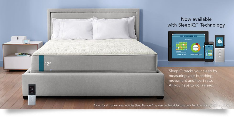 Our newest SLEEP NUMBER® p6 bed features soft, resilient PlushFit™ foam with zones for superior pressure-relief. High-performance layers are topped with a cool, soothing sleep surface.  (have to check make sure there is no latex)
