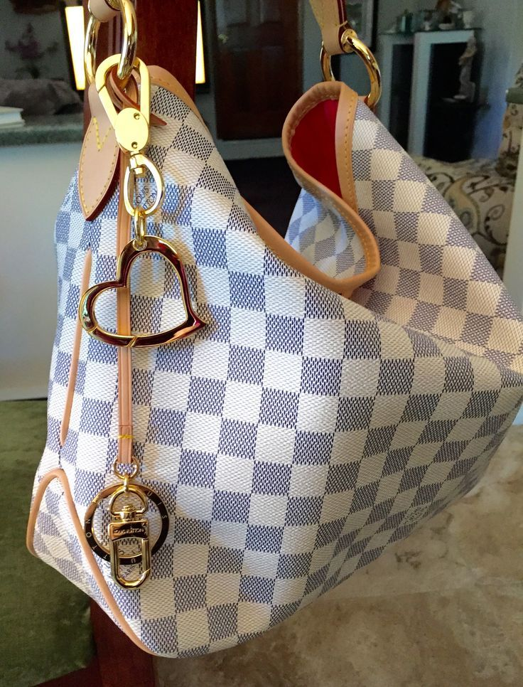I added this awesome charm from Mautto.com to my Delightful PM Louis Vuitton  handbag