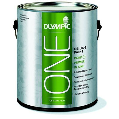 Olympic Interior Paint 75312c0 One Ceiling And Primer