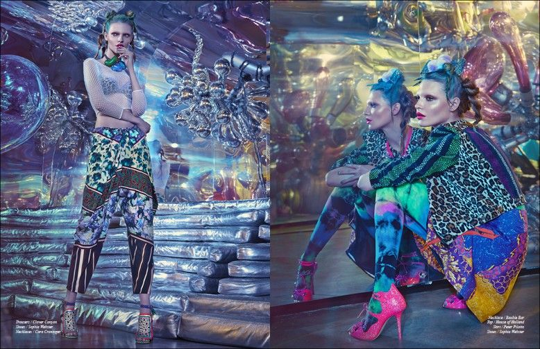 taste the rainbow ファッション