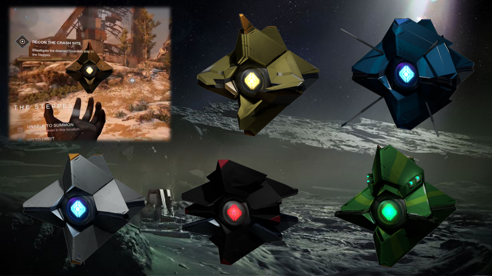 Fan Made Ghost Shells Destiny Game Concept Art Art