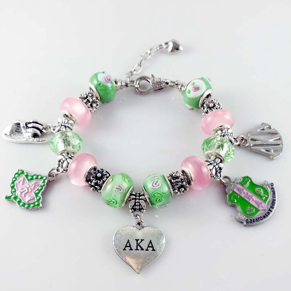 54c327e72 Elegant Alpha Kappa Alpha Bracelet | Recipes | Alpha kappa alpha ...
