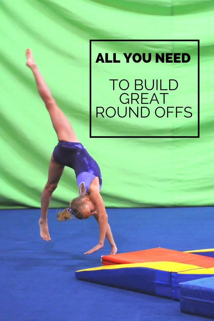 All you need to build great round offs gymnastics skills