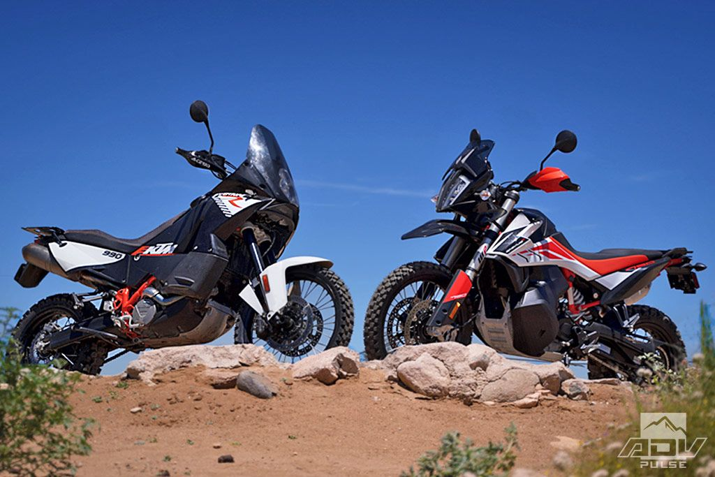 Friendly Fire Ktm 790 Adventure R Vs Ktm 990 Adventure R Con