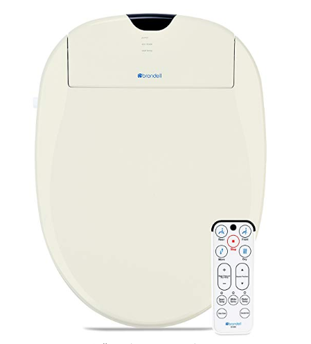 Brondell S1000 Eb Swash 1000 Advanced Bidet Elongated Toilet Seat
