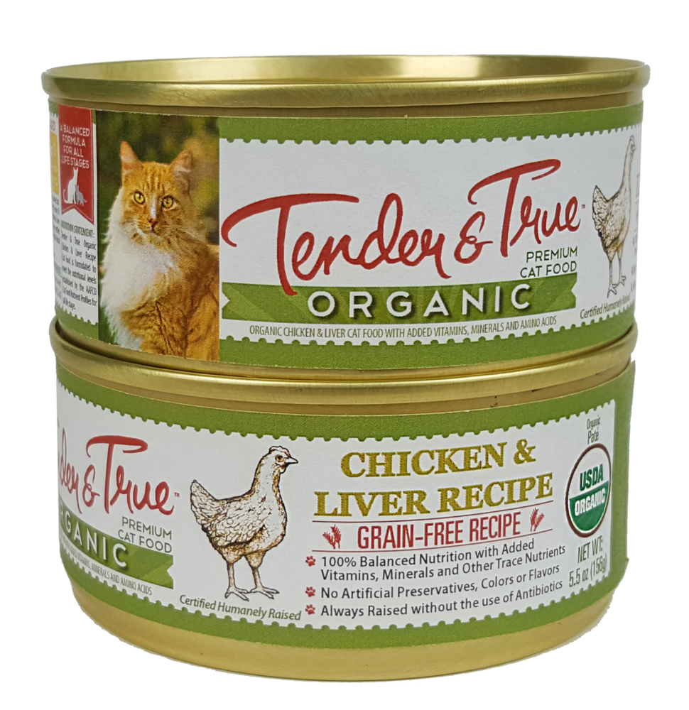 Tender & True Grain Free Organic Chicken and Liver Recipe