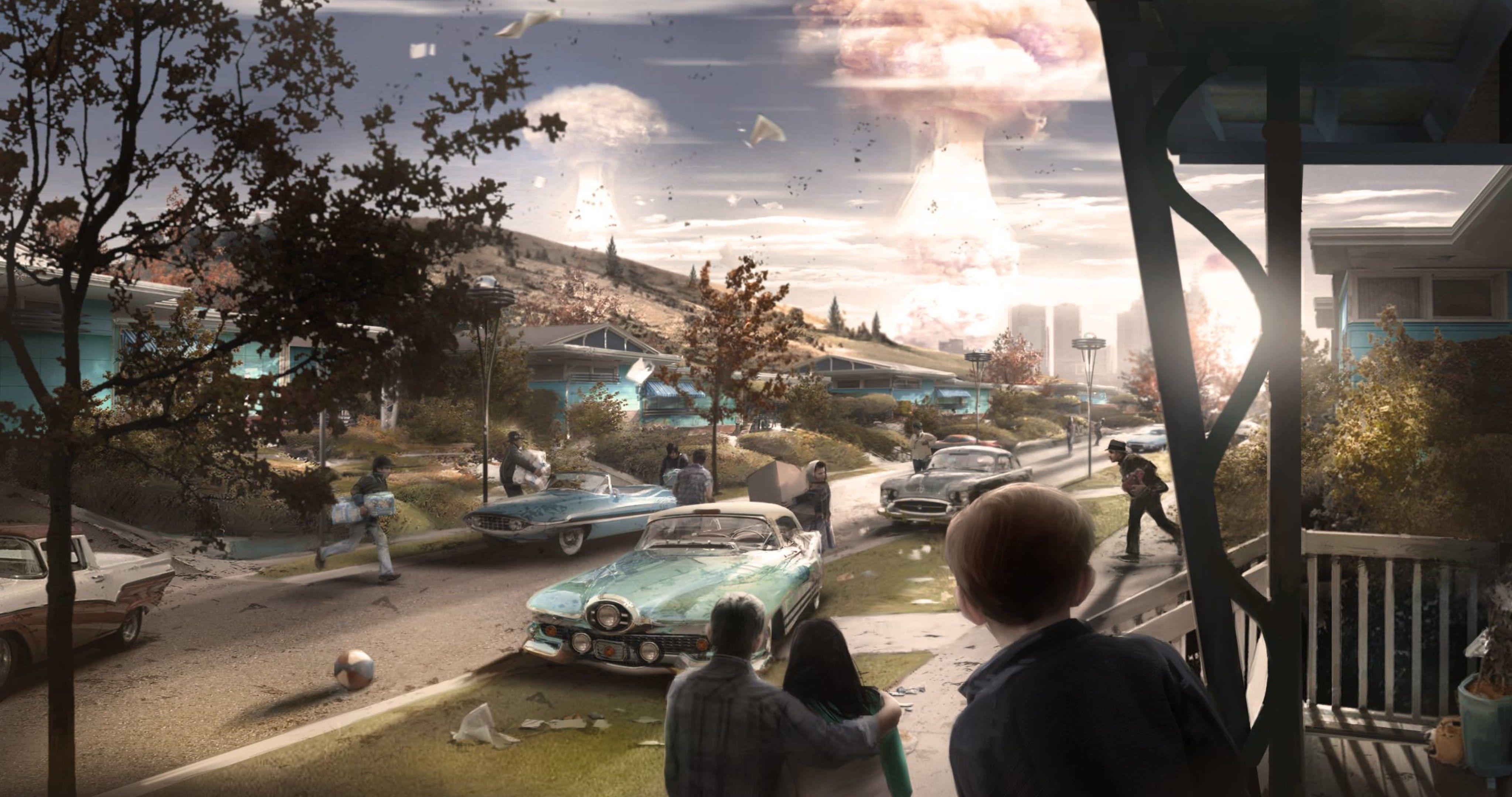 Fallout 4 Nuke Concept Art 4k Ultra Hd Wallpaper Fallout 4 Concept Art Fallout Wallpaper Fallout Concept Art