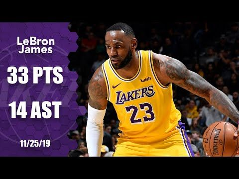 Lebron James Takes Over With 33 Points And 14 Assists In Lakers Vs Spurs 2019 20 Nba Highlights Youtube Lakers Vs Lebron James Lakers