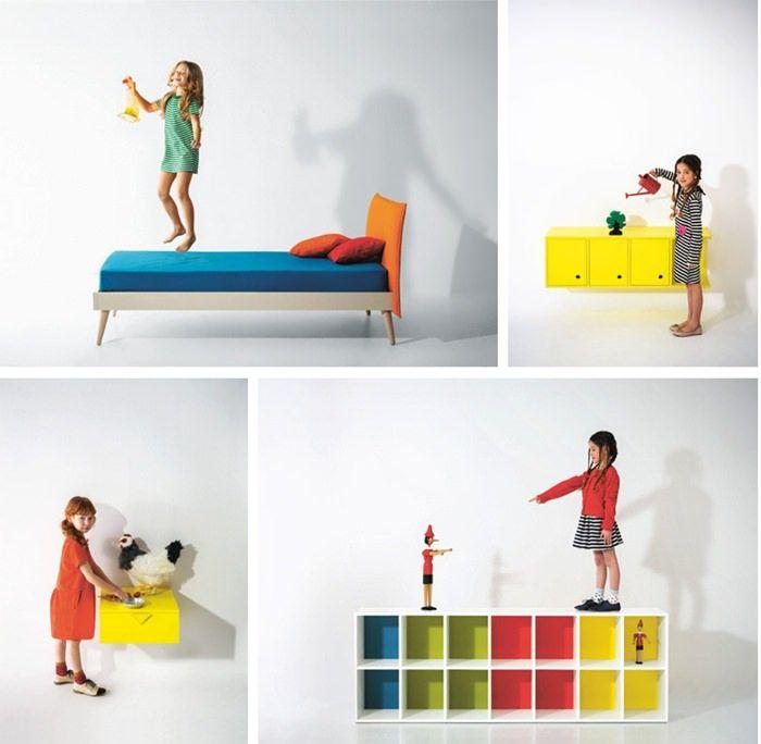 Nidi, increíbles muebles infantiles de diseño by Battisttella ...