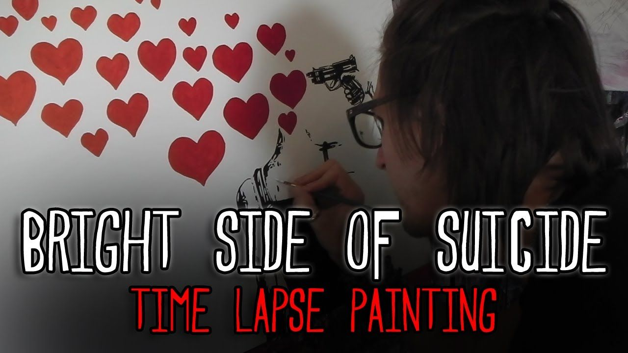 Bright Side Of Suicide - SPEED PAINTING / TIME LAPSE - Art By Stephen Quick