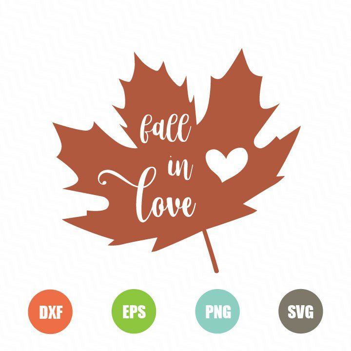 Fall in Love Free SVG - TopFreeDesigns | FREE SVG Files For