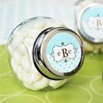 Mod Monogram Personalized Candy Jars