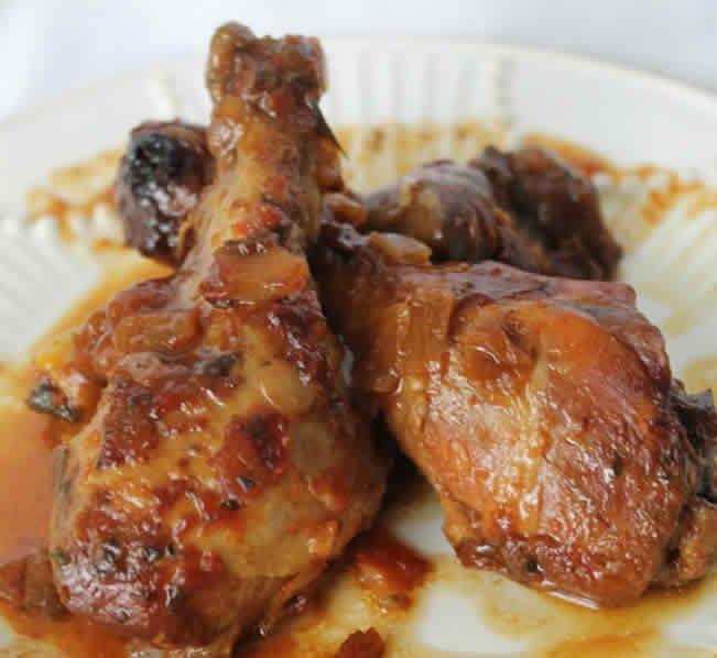 cuisses de poulet oignon au cookeo – recette cookeo facile.