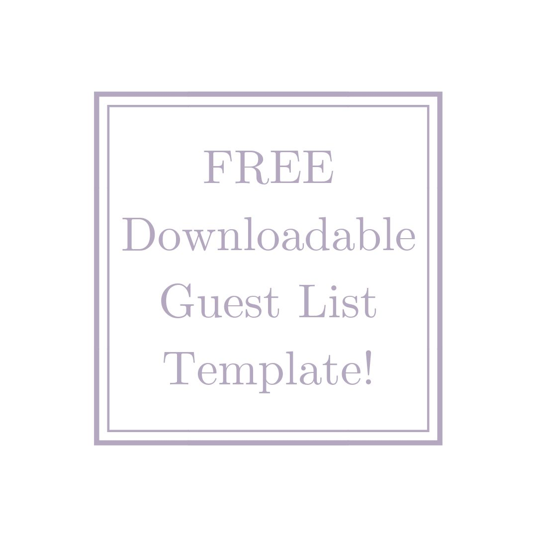 Download this free template to manage head counts, RSVP's