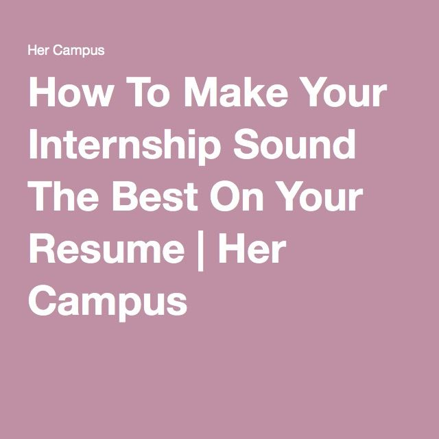 Internship Resume for College Students  Complete Guide      Examples  Fastweb Additional Sections