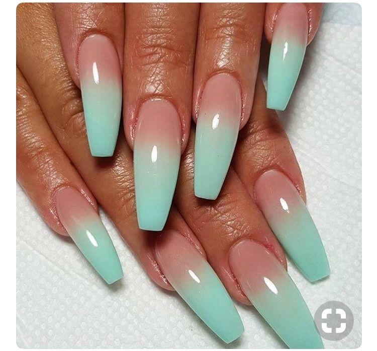 Pinterest Seymonee Ombre nail designs, Ombre acrylic