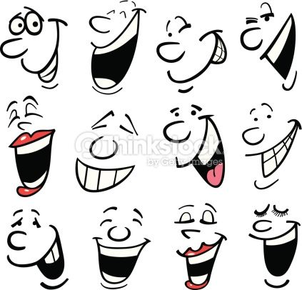 laughter faces the eyes mouths have it pinterest cartoon rh pinterest com Person Laughing Clip Art Laughing Face Clip Art