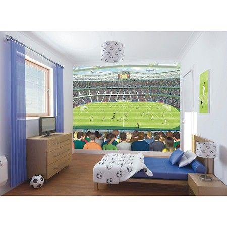 Pin On منشوراتي المحفوظة Football bedroom ideas uk