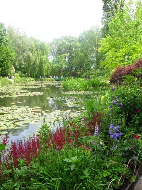 Monetu0027s Water Garden, Giverny Monet Pinterest Jardines y Monet