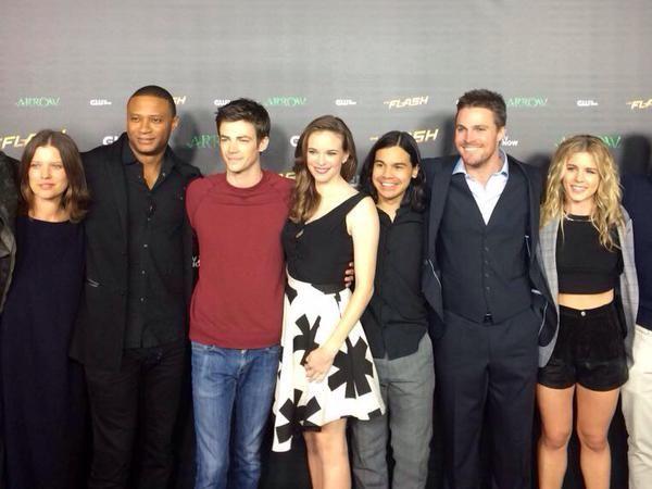 Audrey, David, Grant, Danielle, Carlos, Stephen & Emily #Flarrow
