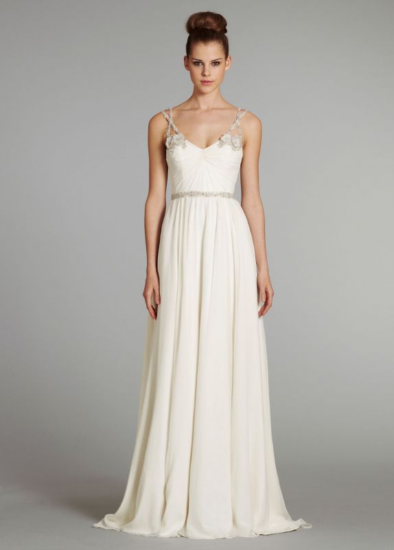 Newbees What Is Your Dream Dress Wedding Empire Chiffon Jim Hjelm Lace