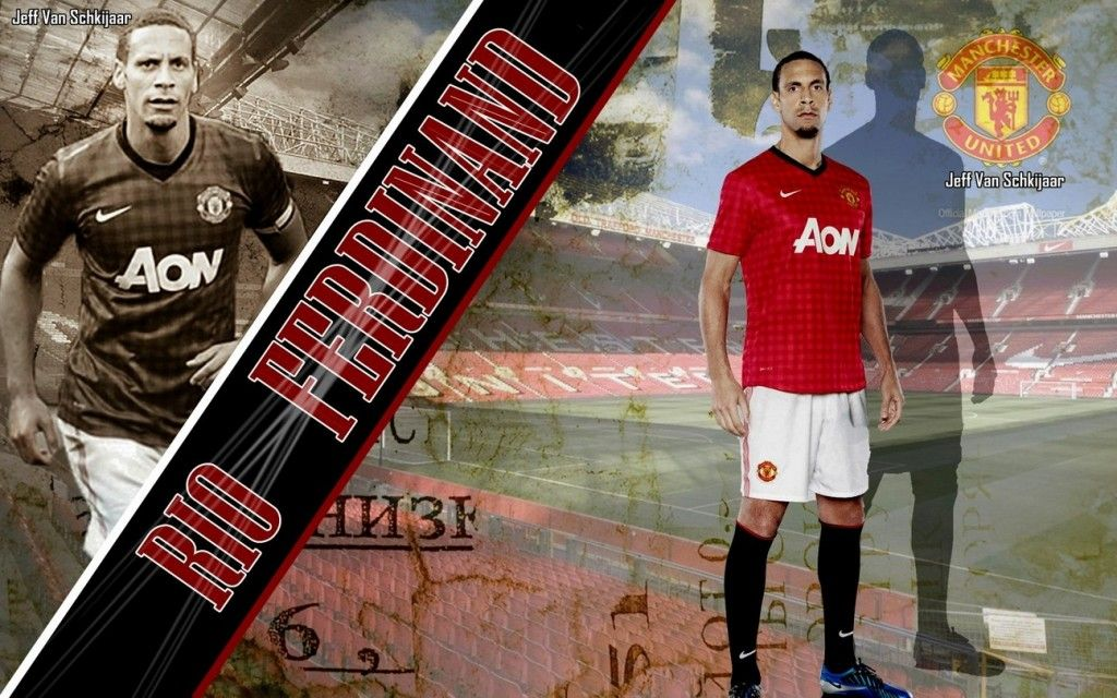 Most Great Manchester United Wallpapers Hd Wallpaper Rio Ferdinand Manchester United Wallpaper 2012-2013 HD Best Wallpapers