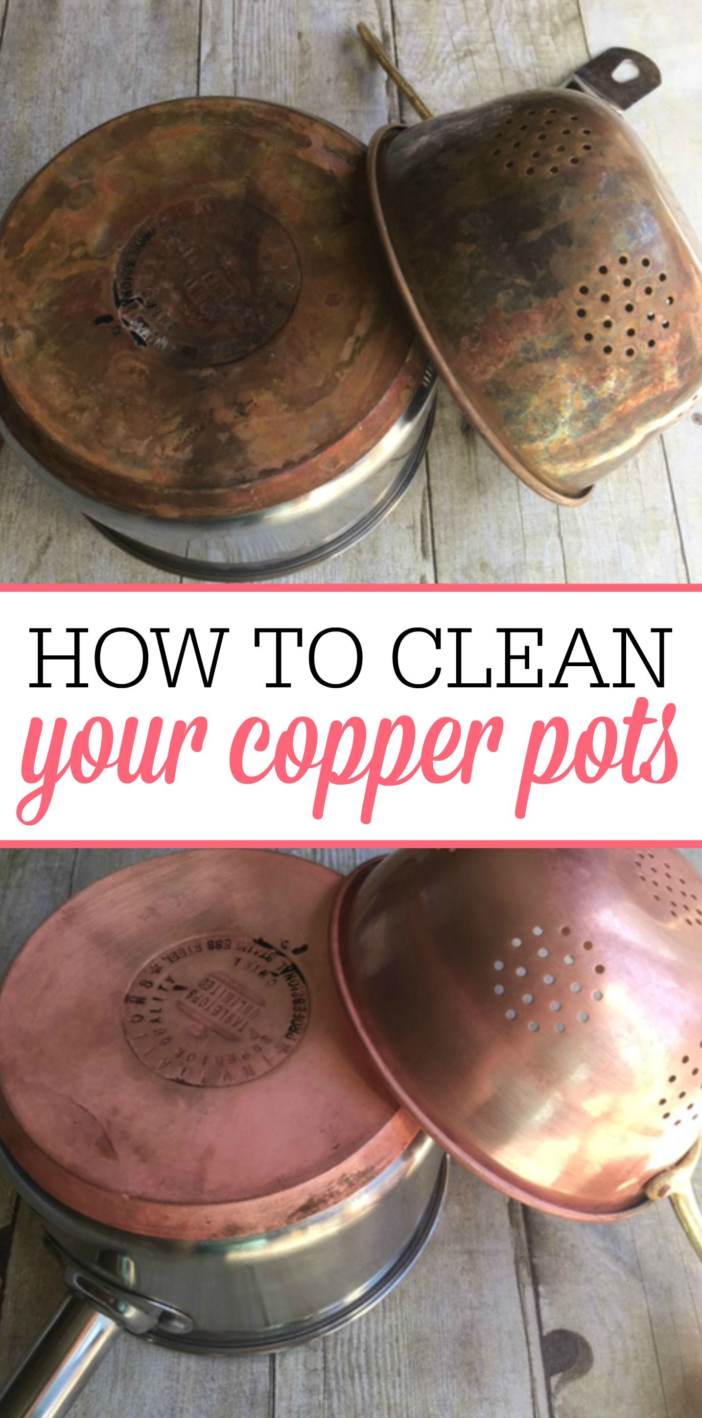 Easy tips for cleaning copper pots how to clean copper