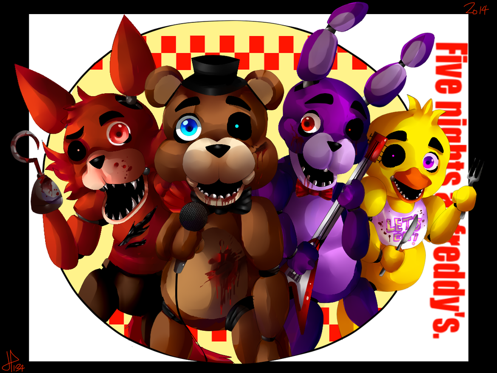 Five Nights At Freddy S By Hunter134 On Deviantart Five Nights And Freddys Freddy S Fiesta De La Patrulla Canina