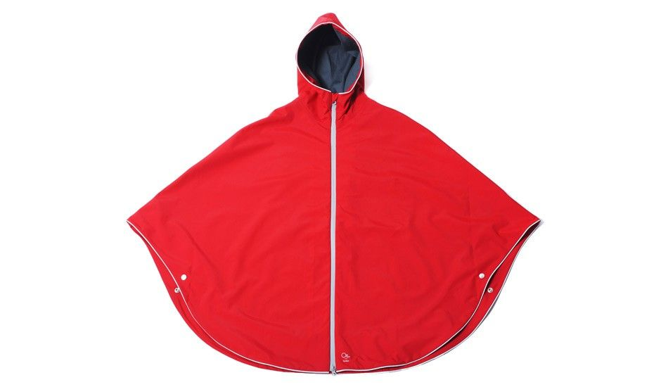Urban Poncho - Red by Otto London | MONOQI